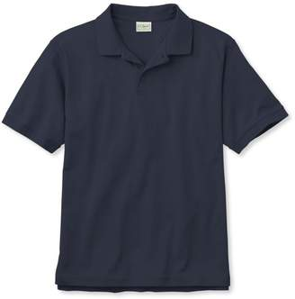 L.L. Bean L.L.Bean Pima Cotton Polo, Traditional Fit Banded Sleeve