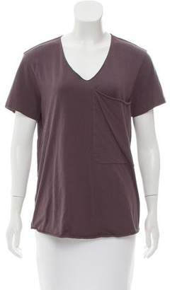 3.1 Phillip Lim Short Sleeve V-Neck Top