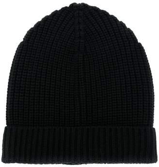 Dolce & Gabbana ribbed beanie hat