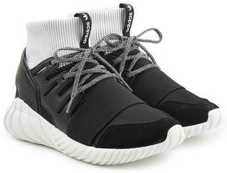 adidas Tubular Doom Sneakers with Suede