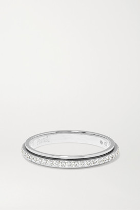 Piaget Possession 18-karat Platinum Diamond Ring - Silver