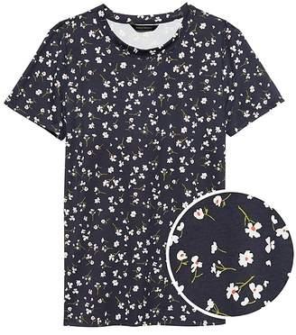 Banana Republic SUPIMA® Cotton Floral T-Shirt