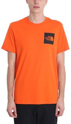 The North Face Orange Cotton T-shirt