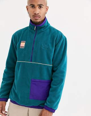 adidas adiplore polar fleece jacket