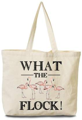 Arden Clothing Flamingo Canvas Tote