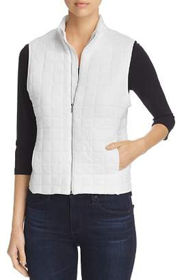 Majestic Filatures Quilted Cotton Vest