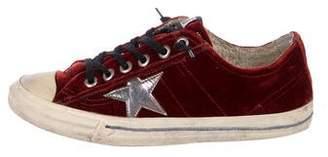 Golden Goose Superstar Round-Toe Sneakers