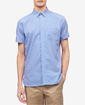 Calvin Klein Men's Gingham Pocket Shirt