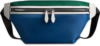 Burberry Large Tri-tone Nylon and Leather Bum Bag