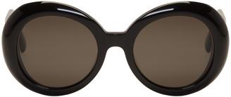 Gentle Monster Black 'Red Pocket' Sunglasses $260 thestylecure.com