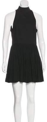 Alice + Olivia Wool A-Line Dress