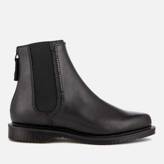 Dr. Martens Women's Zillow Temperley Leather Zip Back Chelsea Boots