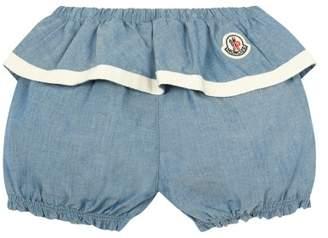 Moncler Chambray Shorts