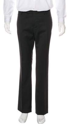 CNC Costume National Wool Flat Front Pants