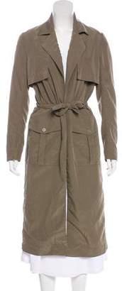 Veda Long Sleeve Long Coat