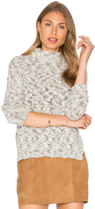 Michael Stars Cabled Turtleneck Pullover $168 thestylecure.com
