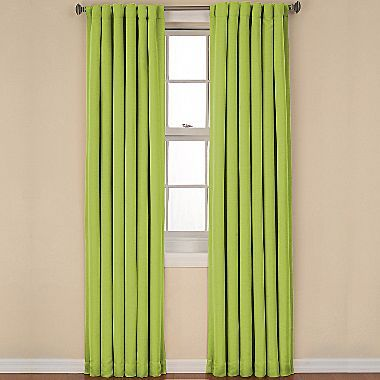 JCPenney EclipseTM Kids Twill Back-Tab Blackout Curtain Panel