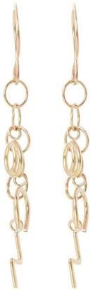 Melissa Joy Manning Gold Celestial Charm Drop Earrings