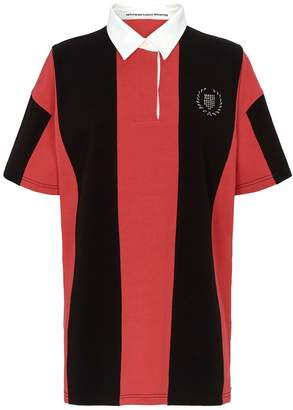 Alexander Wang Asymmetric Stripe Rugby Shirt