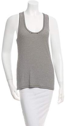 ATM Striped Scoop Neck Top w/ Tags