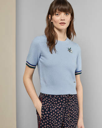 Ted Baker ILYRA Knitted wool blend top