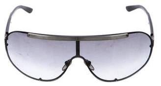 Salvatore Ferragamo Shield Tinted Sunglasses