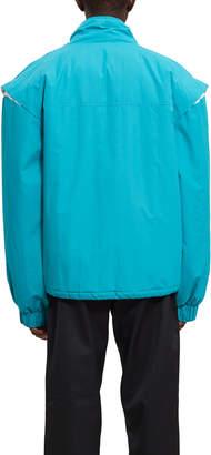 Sakashy Colorblock Reflective Track Jacket