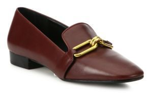 Michael Kors Collection Lennox Leather Loafers $425 thestylecure.com