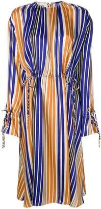 Mulberry oversized striped dress