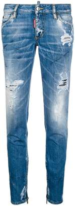 DSQUARED2 light-wash skinny jeans