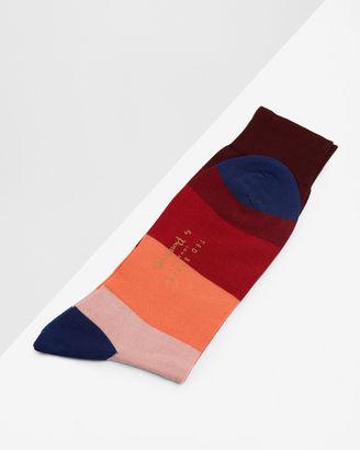 Block striped socks $35 thestylecure.com