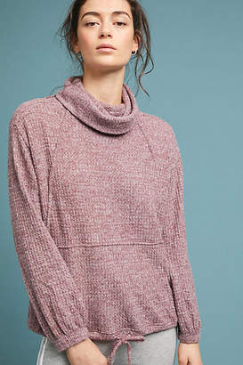 Anthropologie Delaunay Cowl-Neck Pullover