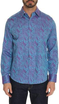 Robert Graham Abalone Way Paisley Print Classic Fit Shirt