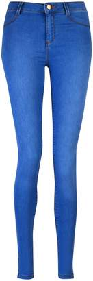 Dorothy Perkins Womens Bright Blue 'Frankie' Super Skinny Jeans