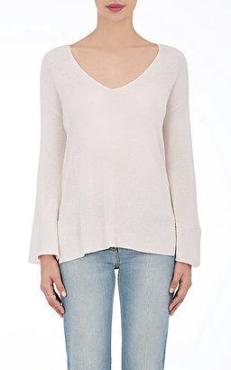 ATM Anthony Thomas Melillo Women's V-Neck Sweater $375 thestylecure.com