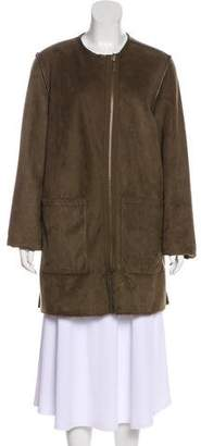 MICHAEL Michael Kors Reversible Short Coat