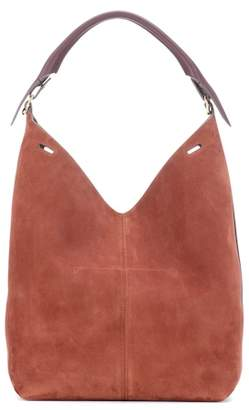 Anya Hindmarch The Bucket suede shoulder bag