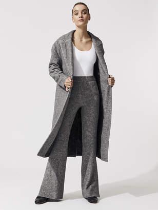 Maddux Jersey Long Easy Coat