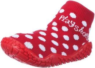 Playshoes Girls UV Protection Aqua Socks Dots Bathing Sandals 174803 4 UK Child, 20 EU Regular