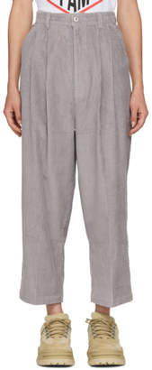 Perks And Mini Grey Corduroy Vera Pike Trousers