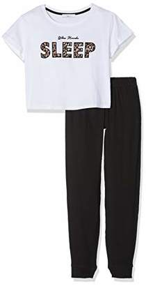 New Look 915 Girl's 5944792 Pyjama Top,Medium