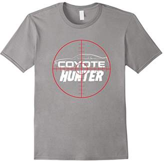 Hunter Coyote Funny Car Guy T-shirt