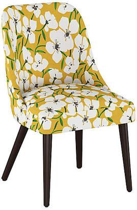 One Kings Lane Barron Side Chair - Marigold Floral
