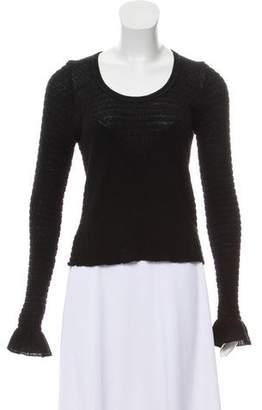 Etro Wool Scoop Neck Sweater