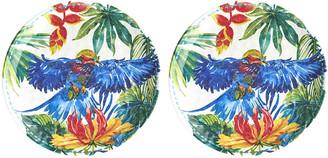 Les Jardins De La Comtesse Les Jardins de la Comtesse - Tropical Birds Side Plates - Set of 2