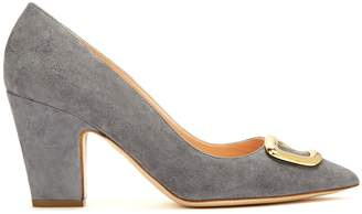 Rupert Sanderson Pierrot Pebble point-toe suede pumps