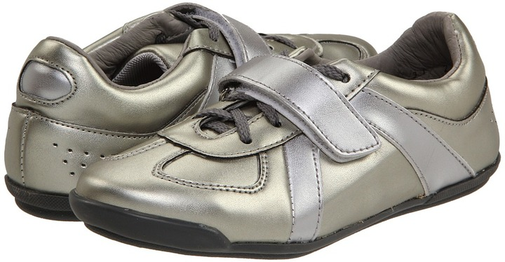 Gabriella Rocha Bolt (Toddler/Youth) (Silver Metallic) - Footwear