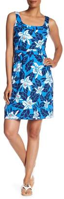 Tommy Bahama Olympias Blooms Linen Blend Dress