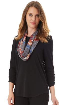 Apt. 9 Women's Ruched Tee & Scarf Set