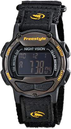 Freestyle Women's 10017013 Predator Digital Display Japanese Quartz Black Watch